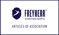 Freyherr articles of association