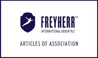 Freyherr articles of association